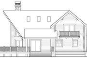 Log Style House Plan - 3 Beds 2 Baths 1744 Sq/Ft Plan #124-503
