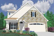 Traditional Exterior - Front Elevation Plan #509-323