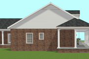 Country Style House Plan - 3 Beds 2 Baths 1716 Sq/Ft Plan #44-196 Exterior - Other Elevation