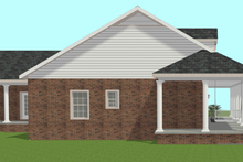 House Plan Design - Country Exterior - Other Elevation Plan #44-196