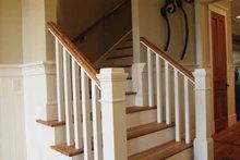 Craftsman Interior - Entry Plan #37-279