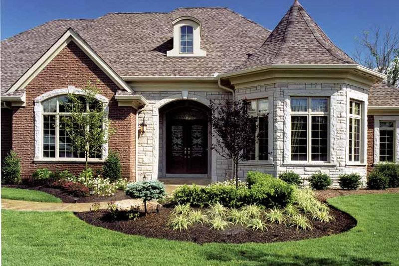 Country Exterior - Front Elevation Plan #46-740 - Houseplans.com