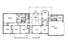 Classical Floor Plan - Main Floor Plan Plan #36-566