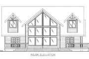Cabin Style House Plan - 3 Beds 2.5 Baths 2541 Sq/Ft Plan #117-765