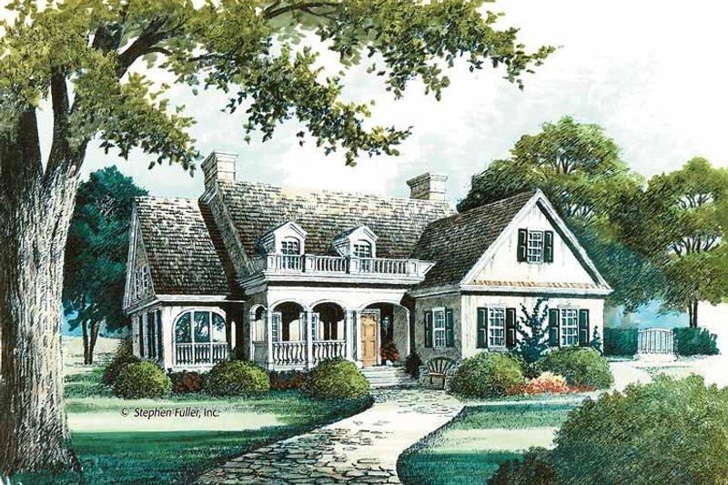 House Plan Design - European Exterior - Front Elevation Plan #429-369