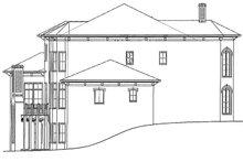 House Plan Design - Mediterranean Exterior - Other Elevation Plan #54-284