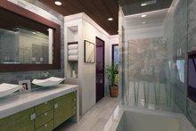 Contemporary Interior - Master Bathroom Plan #484-12