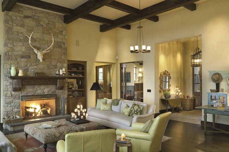 European Interior - Family Room Plan #48-878 - Houseplans.com