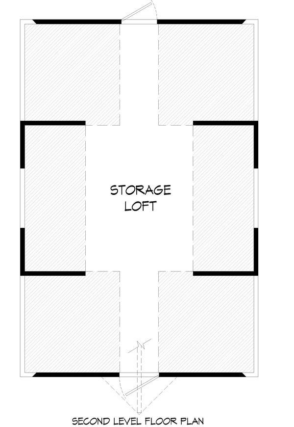 Farmhouse Floor Plan - Upper Floor Plan #932-323