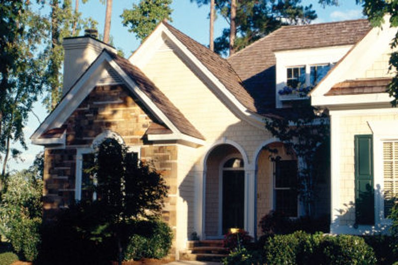 Traditional Exterior - Other Elevation Plan #429-23 - Houseplans.com