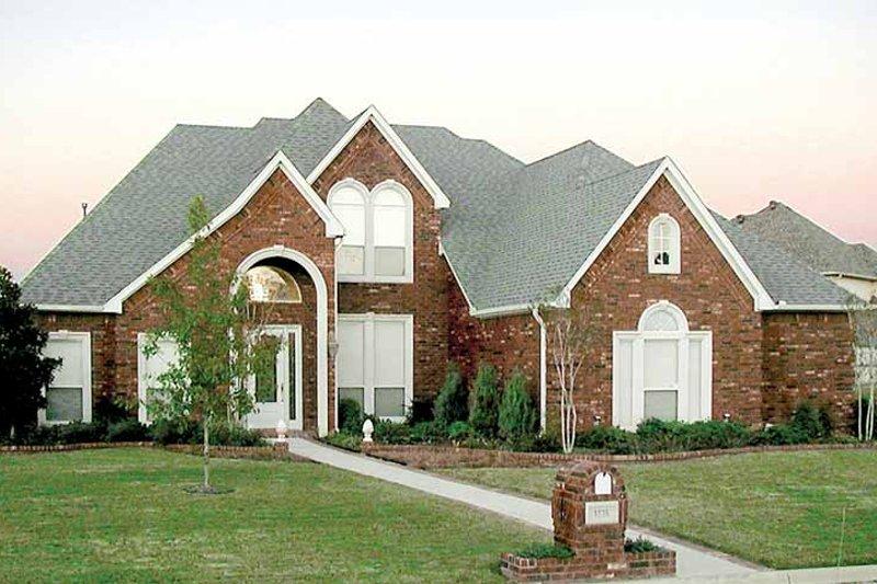 House Plan Design - Tudor Exterior - Front Elevation Plan #84-733