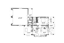 Country Floor Plan - Main Floor Plan Plan #942-28