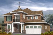 Craftsman Exterior - Front Elevation Plan #132-366