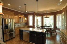 House Plan Design - Country Interior - Kitchen Plan #54-367
