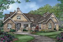 Home Plan - Craftsman Exterior - Front Elevation Plan #929-988