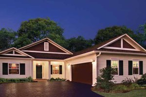 Country Exterior - Front Elevation Plan #930-362