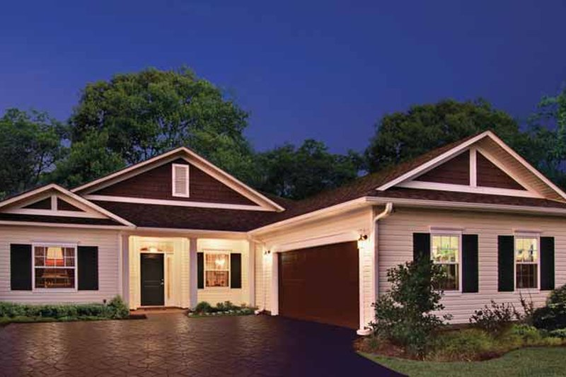 House Plan Design - Country Exterior - Front Elevation Plan #930-362