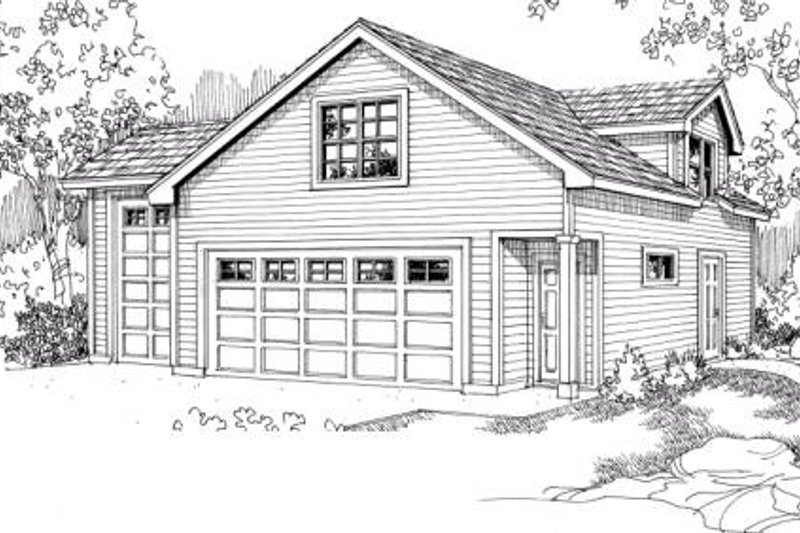 Home Plan - Traditional Exterior - Front Elevation Plan #124-641