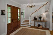 Country Style House Plan - 4 Beds 4.5 Baths 4932 Sq/Ft Plan #928-276 Interior - Entry