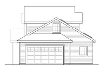 Country Exterior - Other Elevation Plan #124-1060