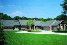 House Blueprint - Modern Exterior - Front Elevation Plan #72-306