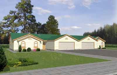 Traditional Exterior - Front Elevation Plan #117-285 - Houseplans.com