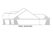 Ranch Style House Plan - 4 Beds 2.5 Baths 2147 Sq/Ft Plan #17-1088 Exterior - Other Elevation