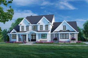 Farmhouse Exterior - Front Elevation Plan #929-1113