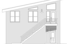 Dream House Plan - Contemporary Exterior - Other Elevation Plan #932-53