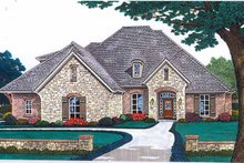 House Plan Design - Country Exterior - Front Elevation Plan #310-1243