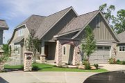 Traditional Style House Plan - 2 Beds 2.5 Baths 1911 Sq/Ft Plan #928-111 Exterior - Front Elevation