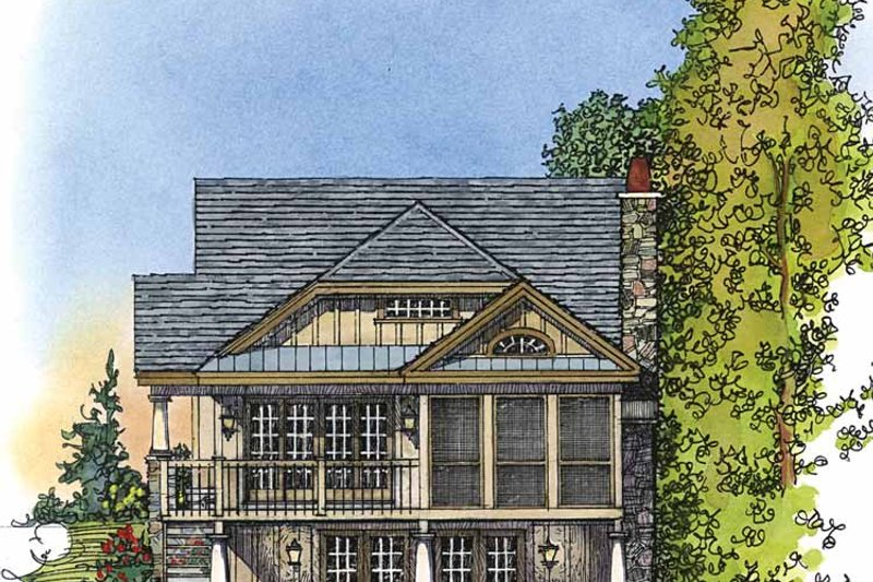 Country Exterior - Other Elevation Plan #1016-73 - Houseplans.com