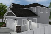 Craftsman Style House Plan - 4 Beds 2.5 Baths 2473 Sq/Ft Plan #1060-57 Exterior - Other Elevation