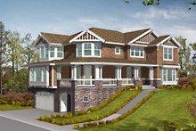 Craftsman Exterior - Front Elevation Plan #132-459