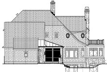 Craftsman Exterior - Rear Elevation Plan #928-185