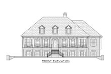 Architectural House Design - Country Exterior - Front Elevation Plan #1054-87