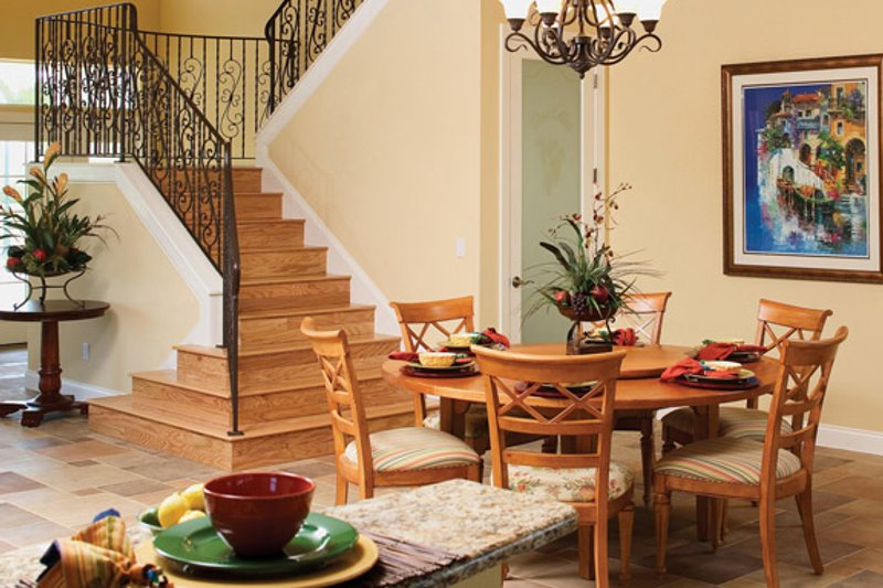 Country Interior - Dining Room Plan #929-897 - Houseplans.com