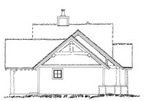 Home Plan - Craftsman Exterior - Other Elevation Plan #942-17