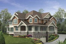 Craftsman Exterior - Front Elevation Plan #132-487