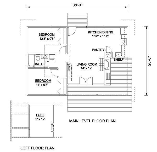 Country Floor Plan - Main Floor Plan #116-223