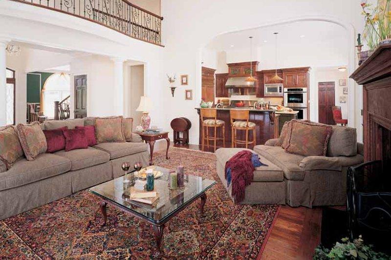 Colonial Interior - Family Room Plan #929-571 - Houseplans.com