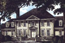 Colonial Exterior - Other Elevation Plan #137-112