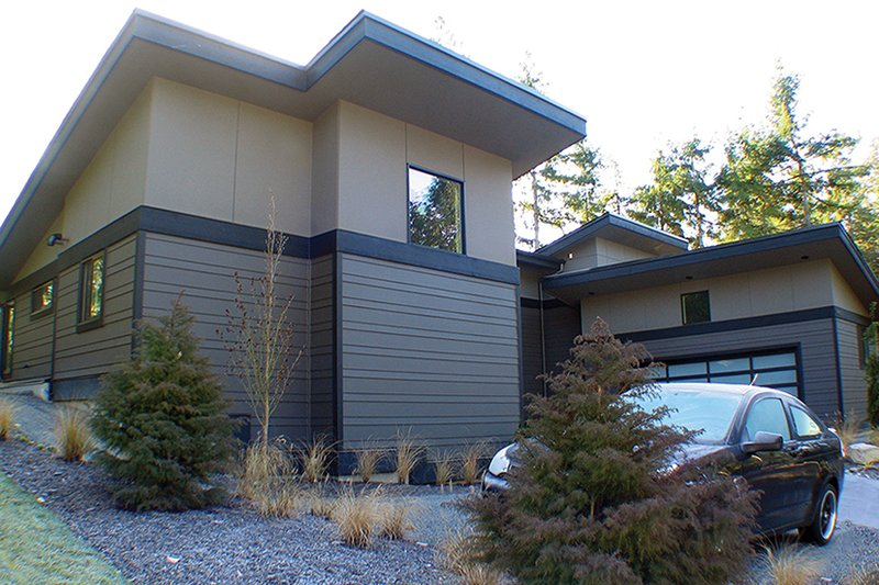 Contemporary Exterior - Other Elevation Plan #132-563 - Houseplans.com