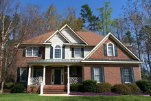 Colonial Exterior - Front Elevation Plan #927-218
