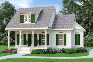 Dream House Plan - Craftsman Exterior - Front Elevation Plan #45-588