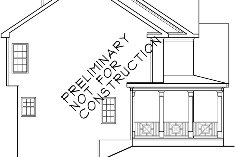 Country Exterior - Other Elevation Plan #927-253 - Houseplans.com