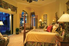 Mediterranean Interior - Master Bedroom Plan #930-34