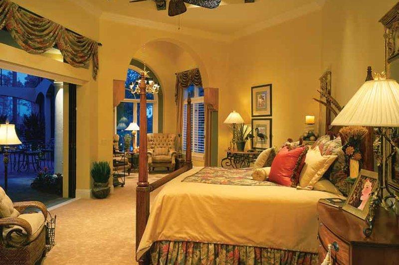 Mediterranean Interior - Master Bedroom Plan #930-34 - Houseplans.com