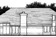 Mediterranean Style House Plan - 2 Beds 2.5 Baths 1575 Sq/Ft Plan #320-435 Exterior - Rear Elevation