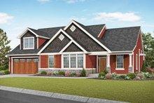 House Plan Design - Craftsman Exterior - Front Elevation Plan #48-957